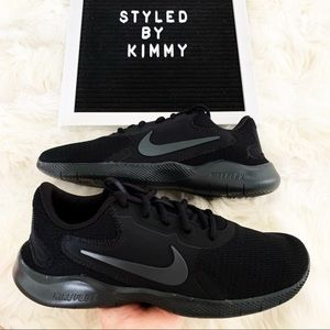🌸 Nike Flex Contact Sneakers Running Shoes Black